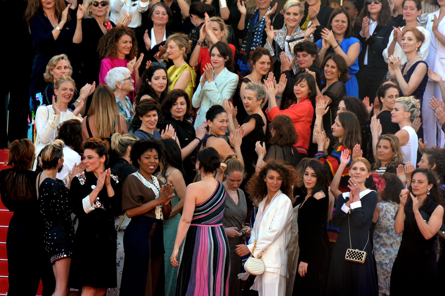 Women Cannes do it
