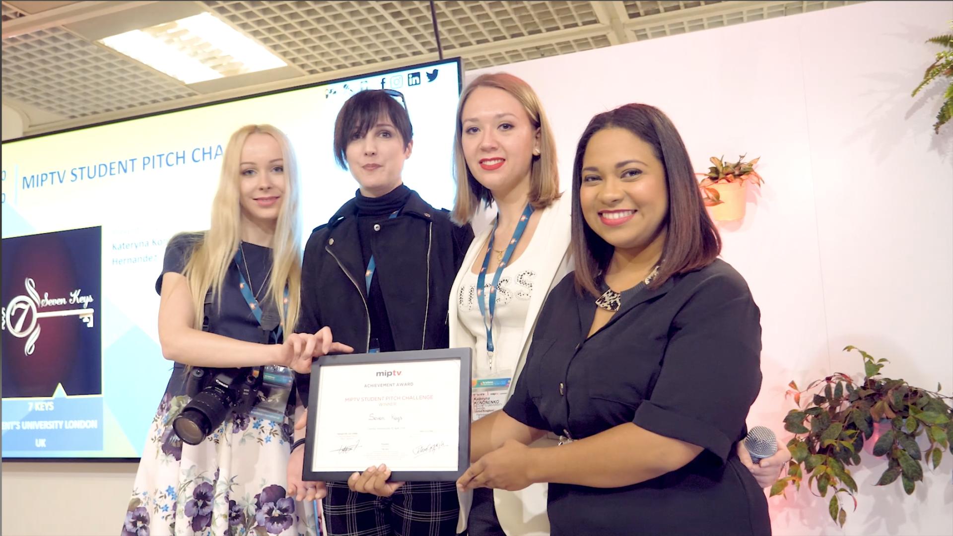 Seven Keys : le groupe gagnant du Student Pitch Challenge 2019