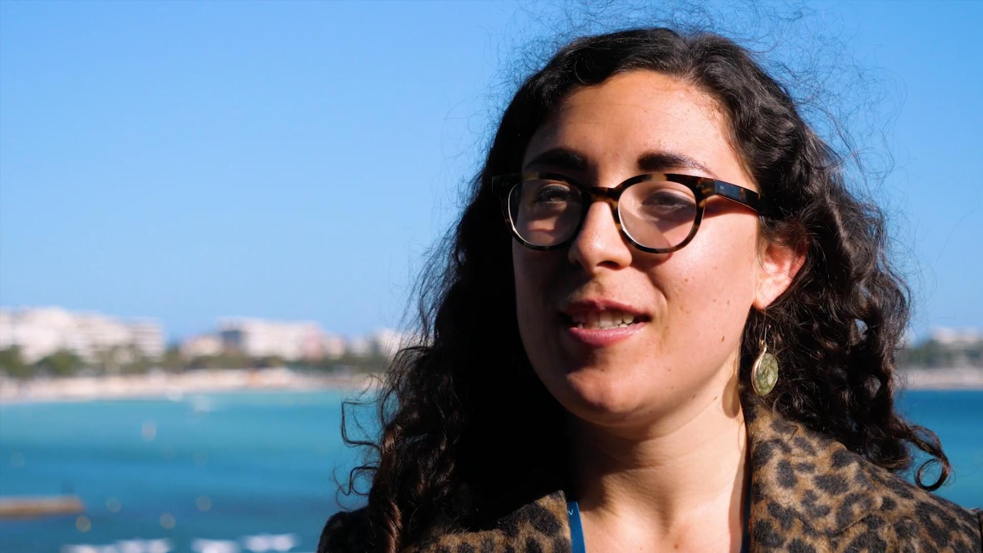 Étudiante en audiovisuel, Sophia Verdati nous partage son expérience au MIPTV