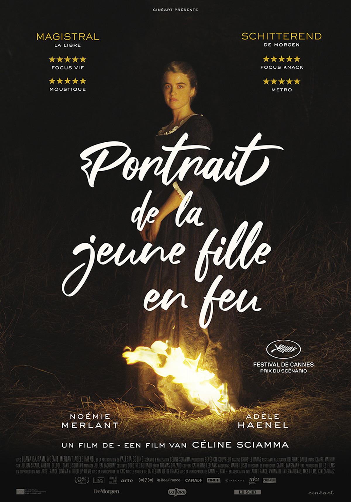 Portrait de la jeune fille en feu, de Céline Sciamma