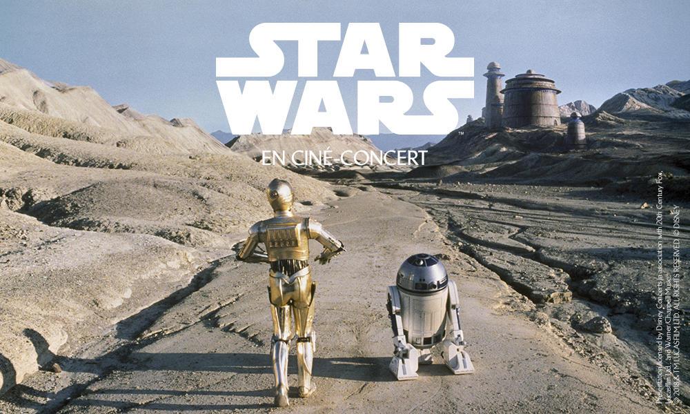 Star Wars en ciné-concert à la Philharmonie de Paris