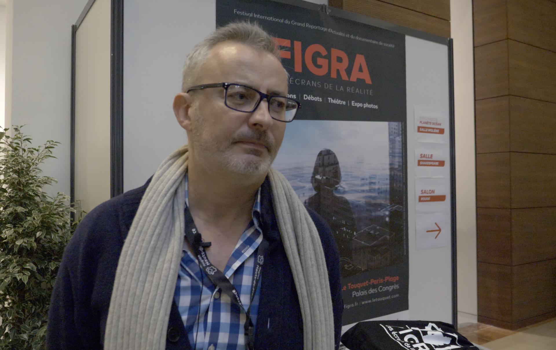 """Interview avec Frédéric Biamonti, juré dans la section """"Terre d'Histoire"""" au FIGRA"""