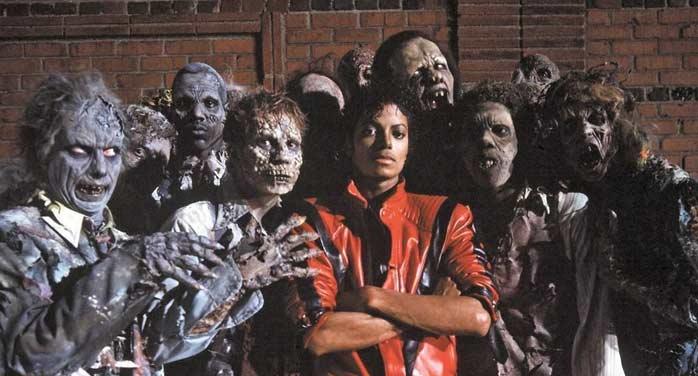 """Le clip """"thriller"""" de Michael Jackson, fête ses 30 ans"""