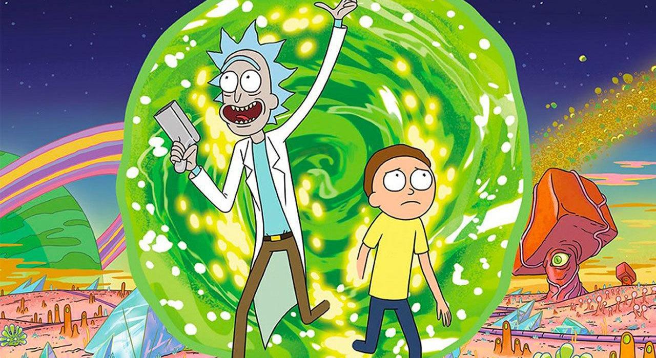 """La série d'animation déjantée """"Rick et Morty"""""""