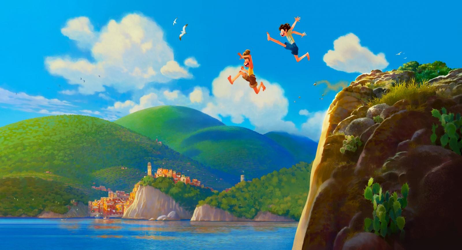 Luca : Les studios Disney Pixar mettent à l'honneur la douceur de l'Italie dans un fabuleux long métrage animé