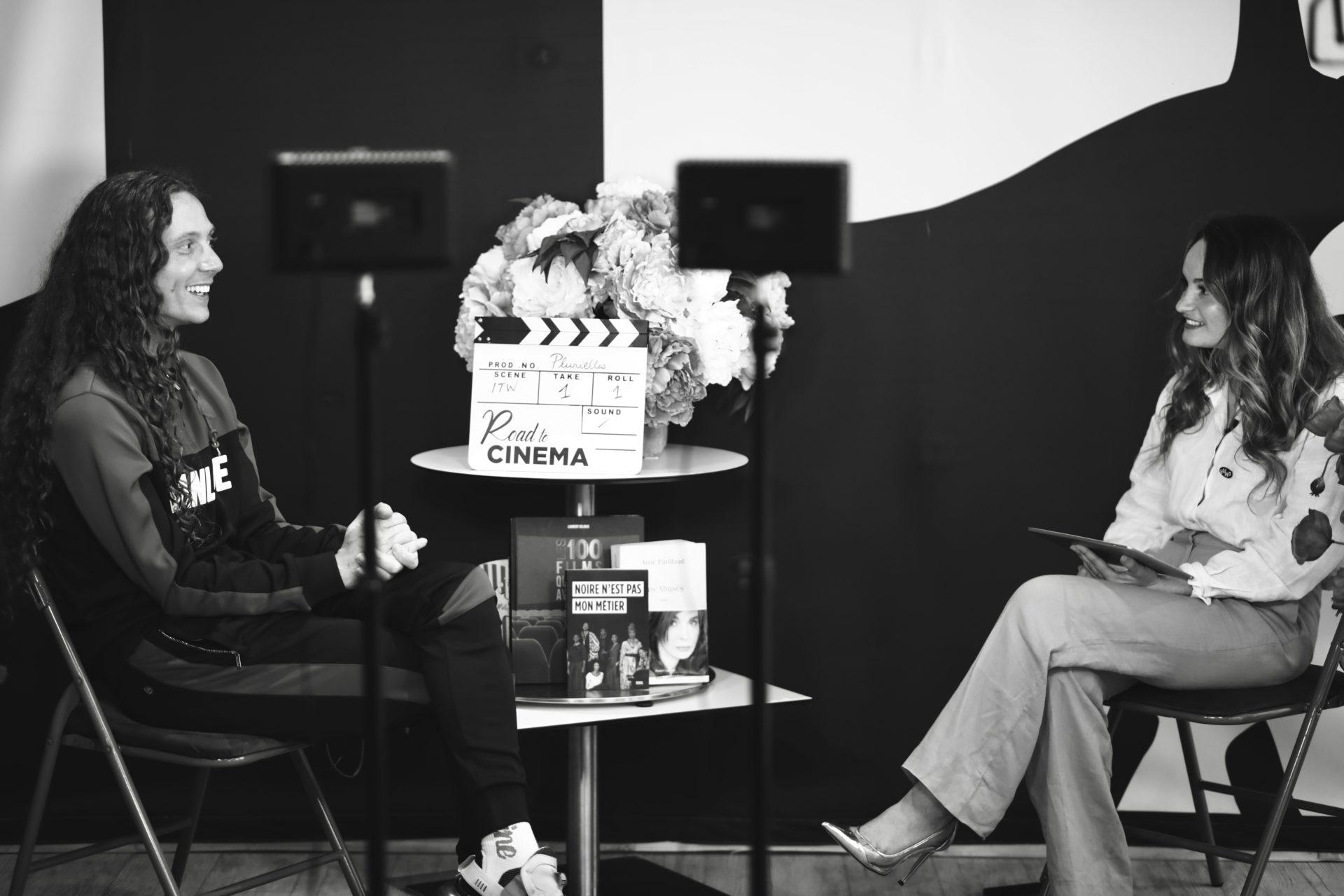 L'acteur et juré du Prix Émergence, Romain Brau, au Festival Plurielles