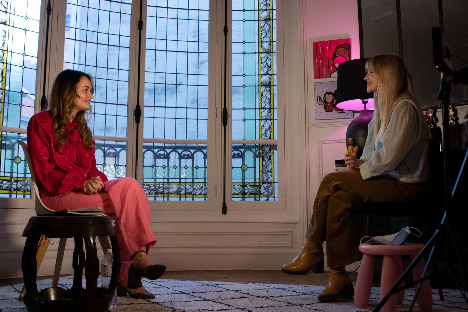 Rencontre: Constance Arnoult lance son média culturel L'Eloge et s'adonne à de nouveaux projets de comédie