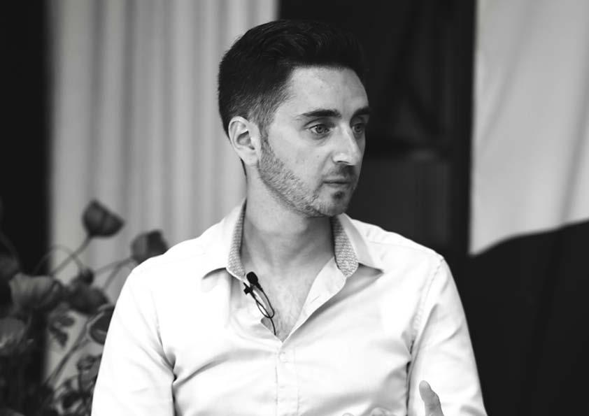 L'acteur et réalisateur, Olivier Lallart, membre du Jury Émergence au Festival Plurielles