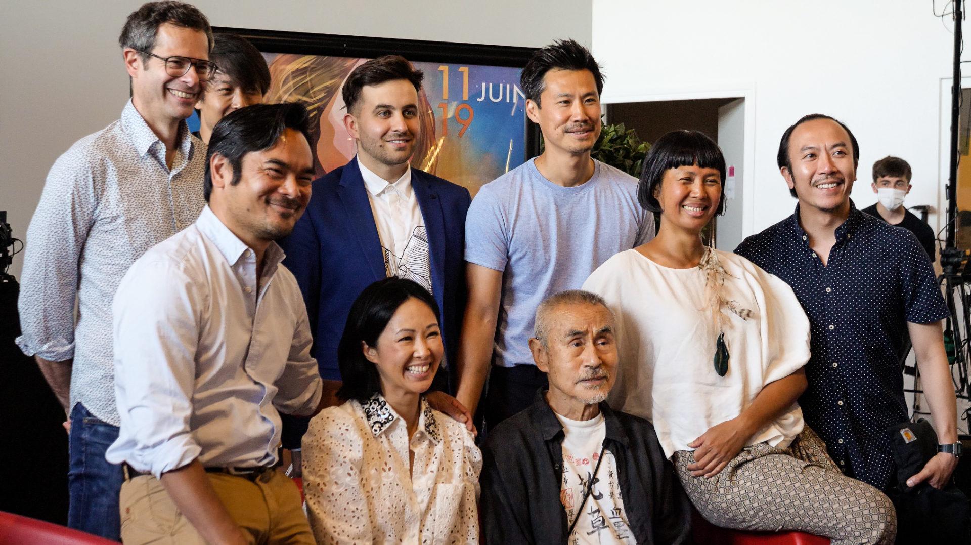 La table ronde autour des artistes et agents d'origines asiatiques dans le cinéma français au Festival Plurielles