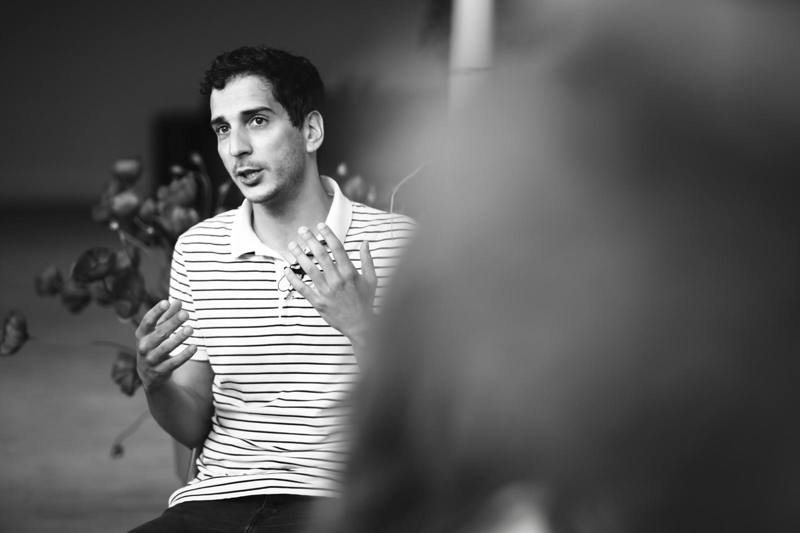 Kevin Elarbi, membre du Jury Émergence au Festival Plurielles