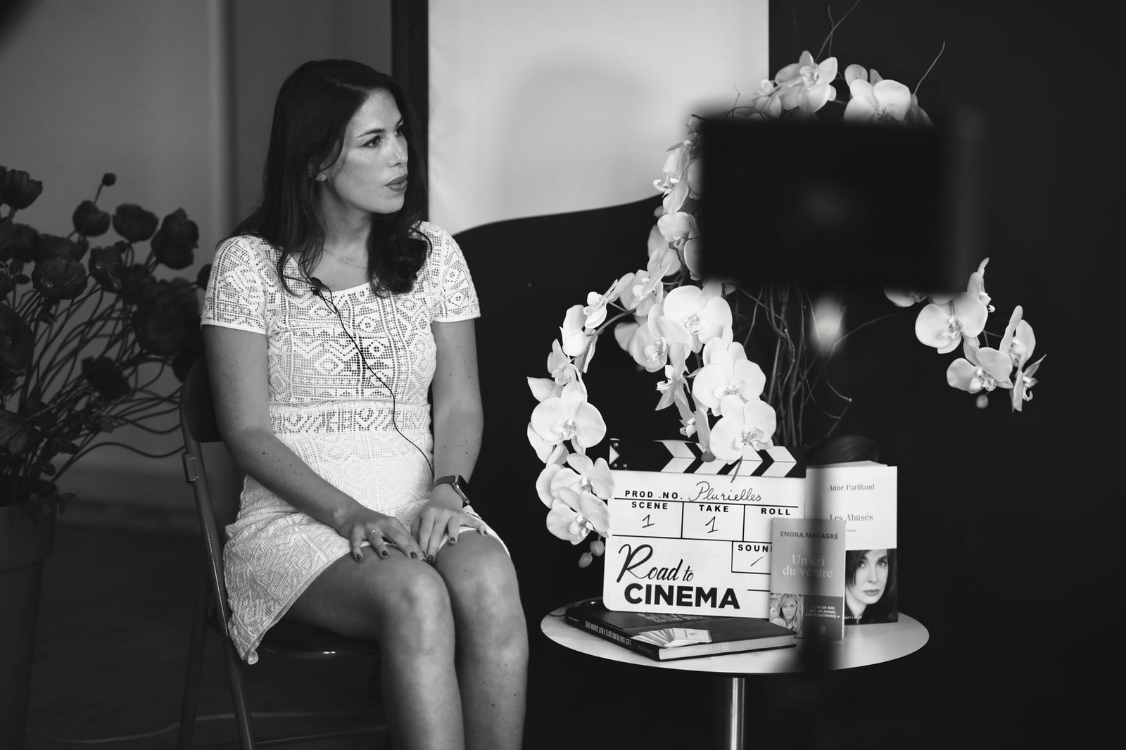 La réalisatrice Nathalie Marchak, au Festival Plurielles